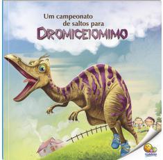 Um campeonato de saltos para Dromiceiomimo
