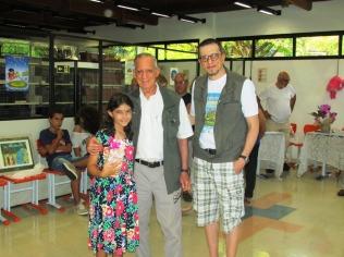 Karen Santos, Luiz Carlos Sales e Alexander Sales