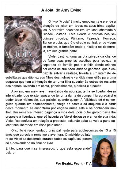 Indicação Beatriz Pecht