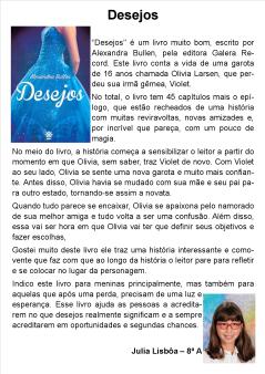 Indicação Júlia Lisboa